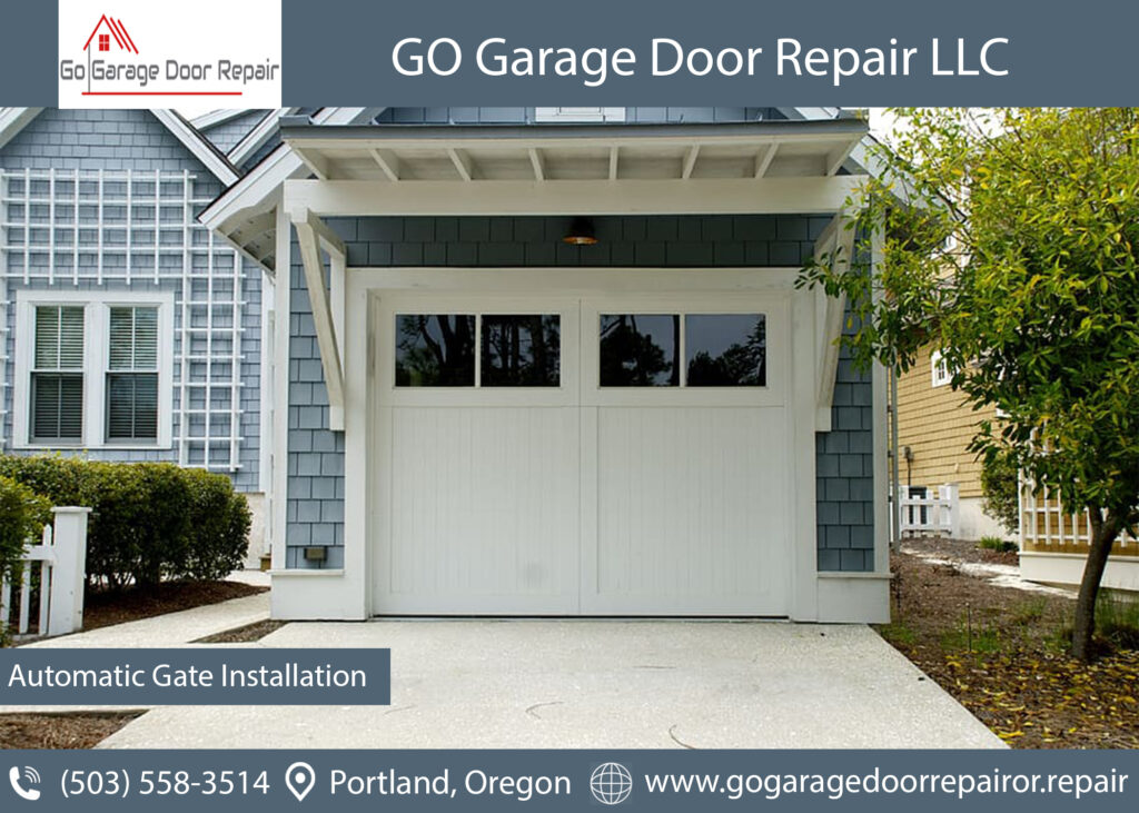 Automatic residential garage doors